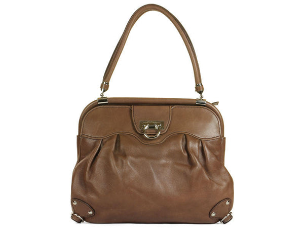 Ferragamo Brown Leather Bag