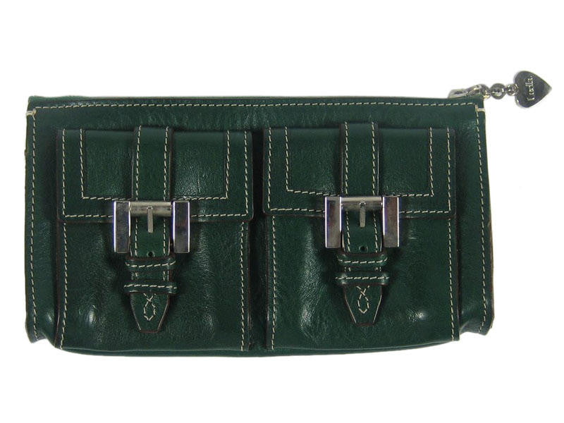 Luella Dark Green Wallet