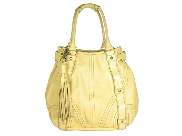 Botkier Creamy Yellow Bombay Tote