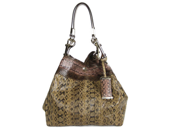 Jimmy Choo Snake Lohla Bag