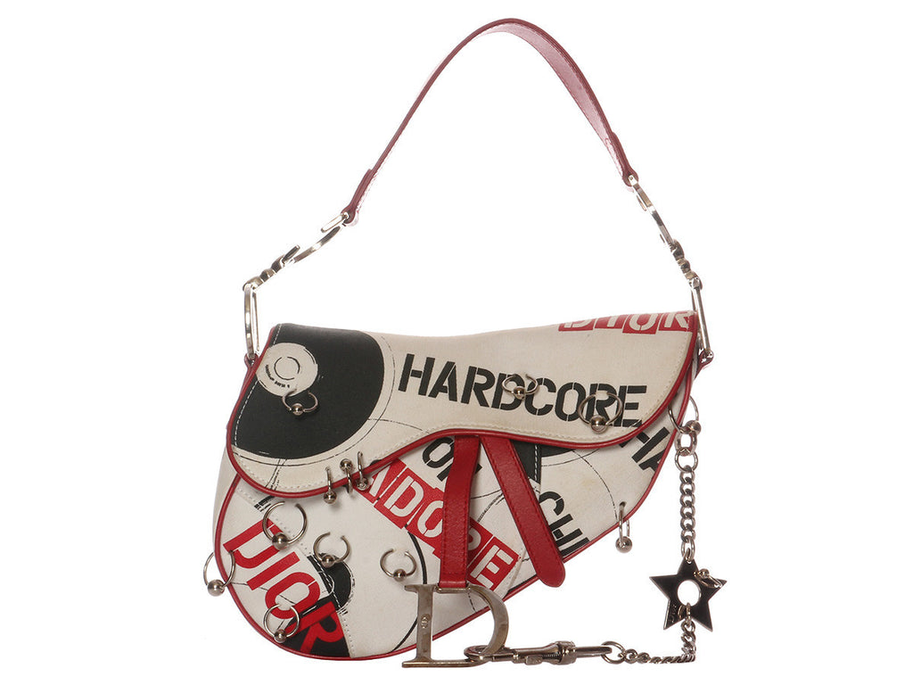 Christian Dior J'Adore Hardcore Saddle Bag