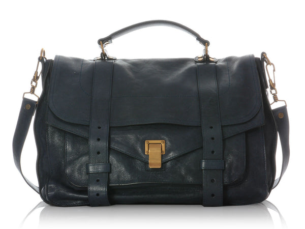 Proenza Schouler Large Midnight PS1