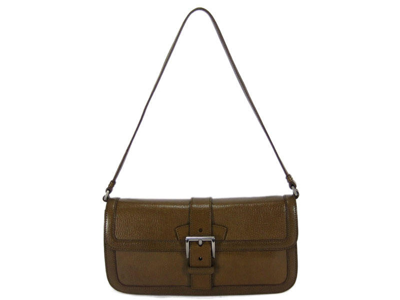 Prada Small Brown Leather Bag