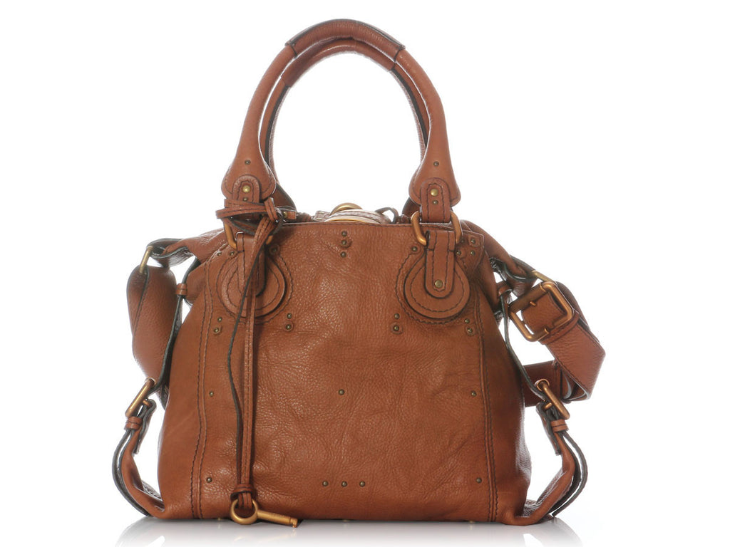 Chloé  Brown Paddington Tote