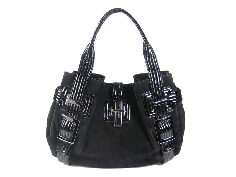 Roger Vivier Black Suede Bag