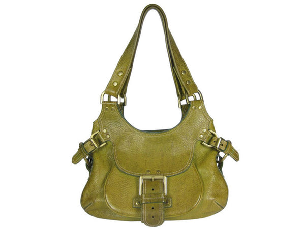 Mulberry Olive Green Phoebe