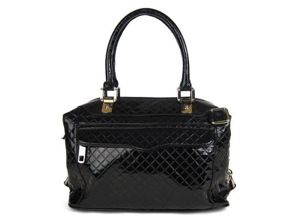 Rebecca Minkoff Black Quilted Mini Morning After Bag