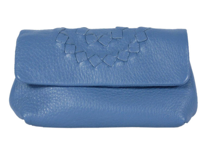 Bottega Veneta Blue Cosmetic Case