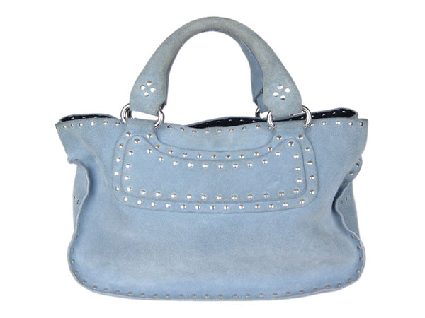 Celine Baby Blue Boogie Bag
