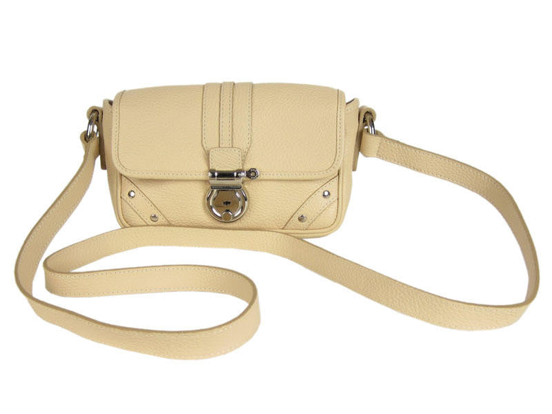 Burberry Beige Leather Shoulder Bag