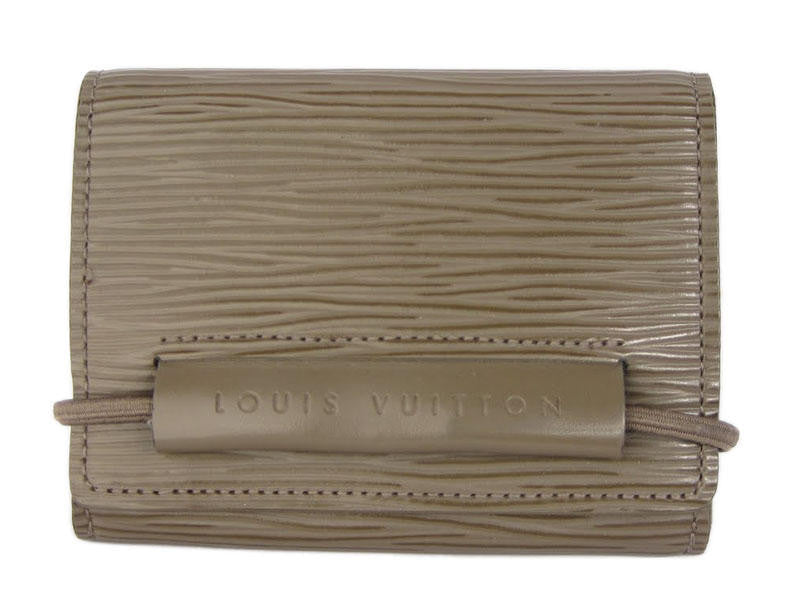 Louis Vuitton Pepper Elastique Epi Wallet
