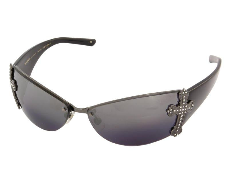 Loree Rodkin Cross Sunglasses