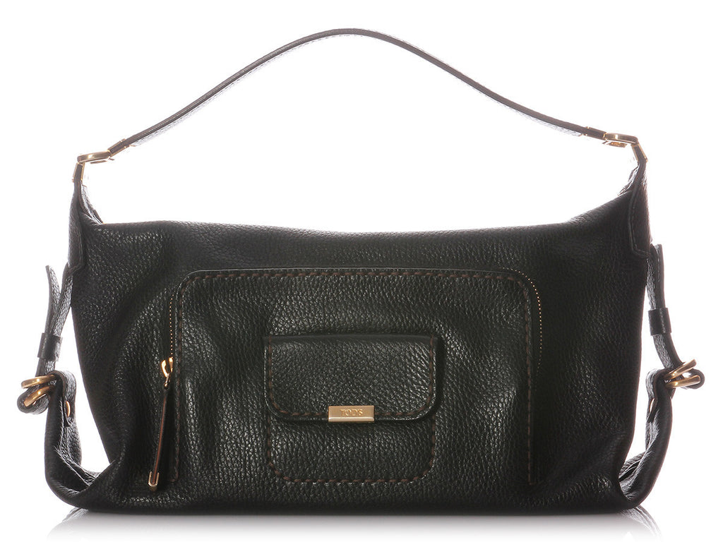 Tod's Black Leather Bag