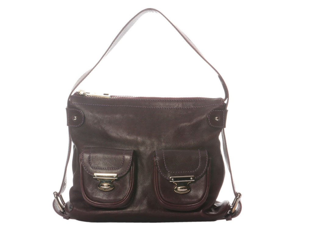 Marc Jacobs Small Purple Shoulder Bag