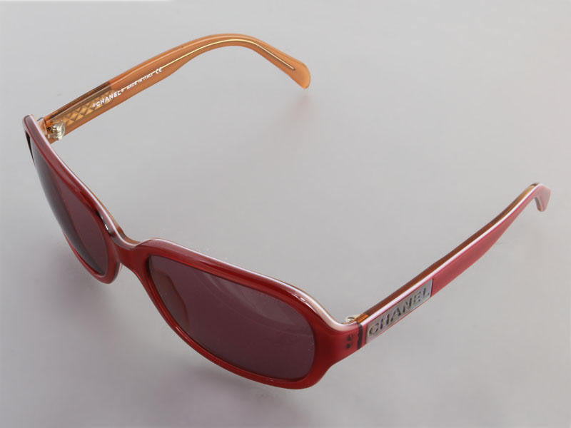 Chanel Burgundy Sunglasses