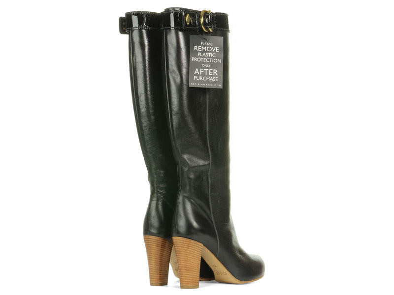 Chloé  Tall Black Leather Boots