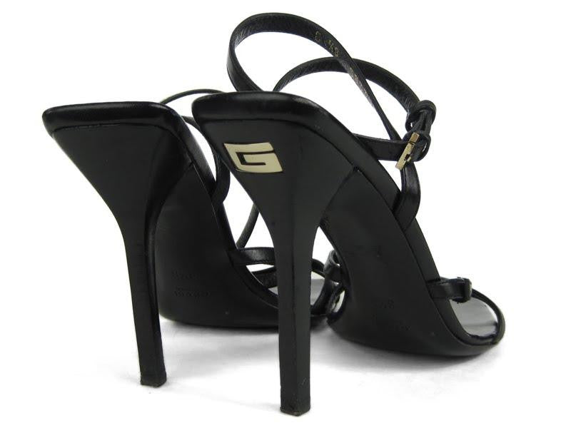 Gucci Super Strappy Leather Heels