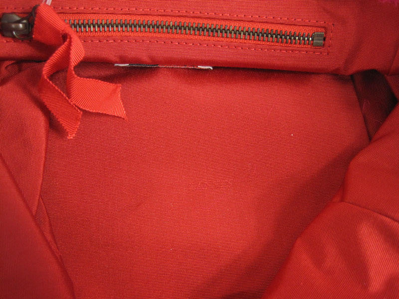 Lanvin Red Nylon Tote
