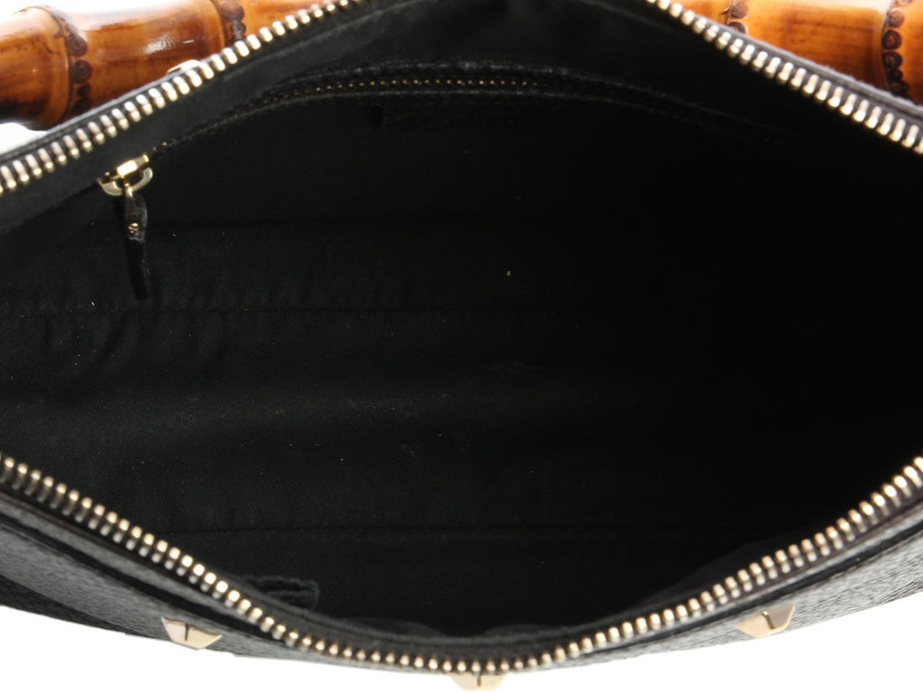 Gucci Small Black Leather Bag