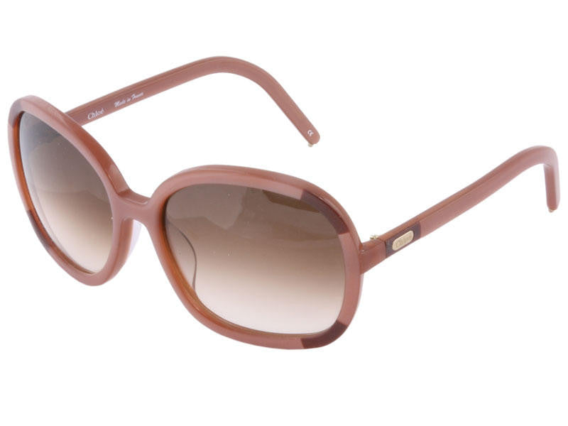 Chloé  Mauve/Purple Color Block Sunglasses