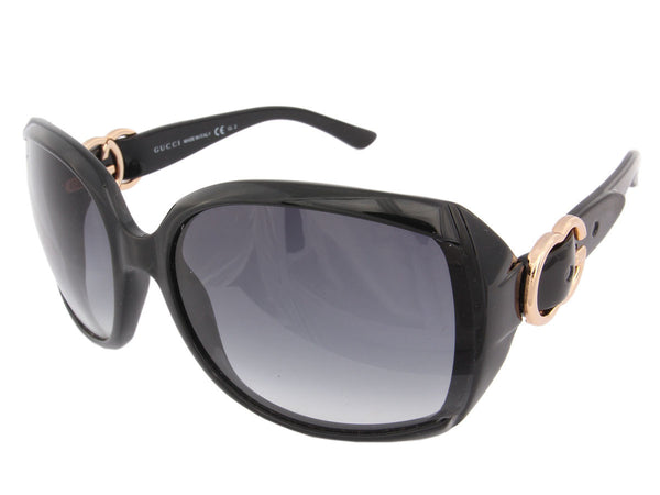 Gucci Black Oversized Sunglasses