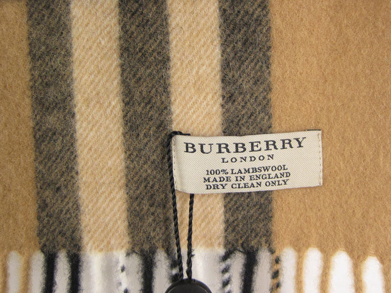 Burberry Small Check Throw