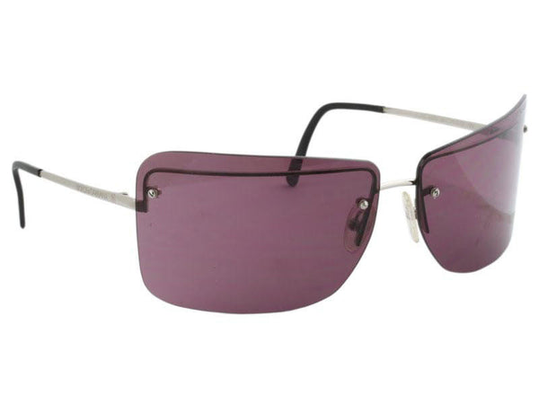 Dolce & Gabbana Purple Rimless Sunglasses