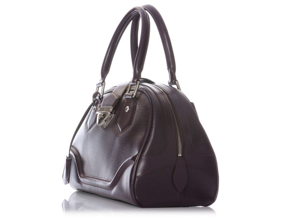 Louis Vuitton Cassis Epi Montaigne Bowling GM