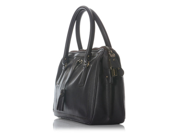 Ferragamo Prune Top Handle Bag