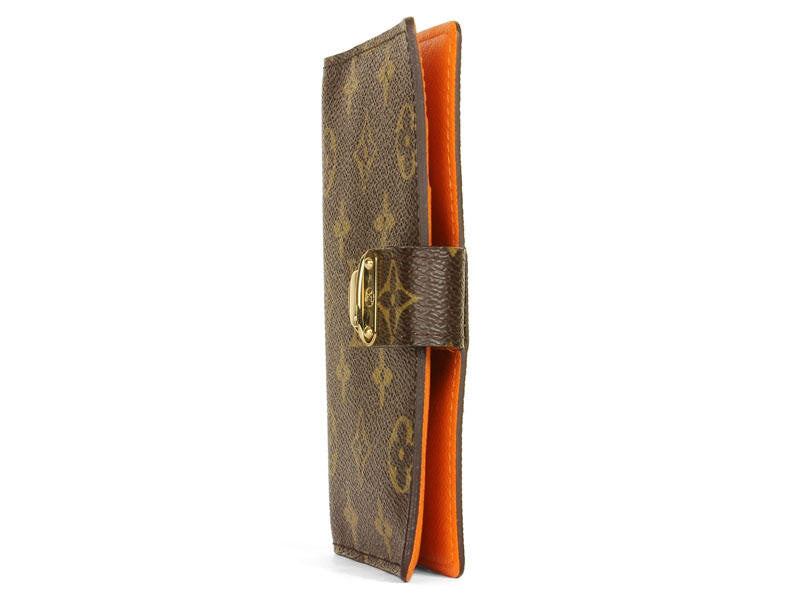 Louis Vuitton Small Orange Koala Agenda
