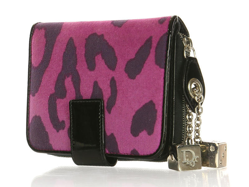 Christian Dior Purple Gambler Wallet