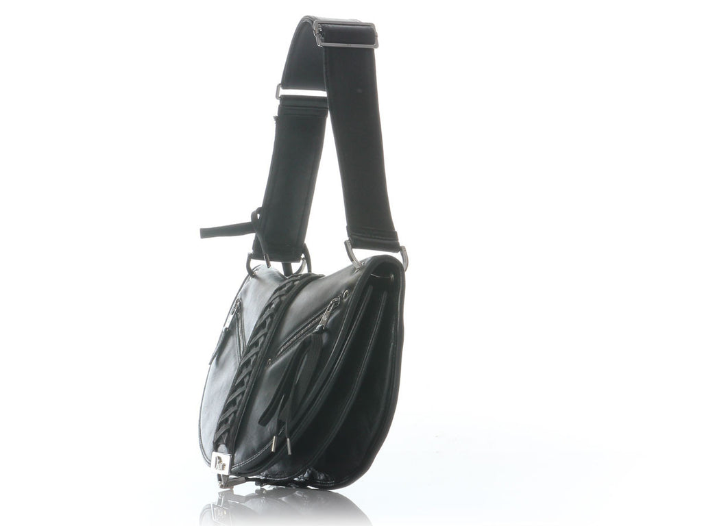Christian Dior Black Admit It Corset Bag