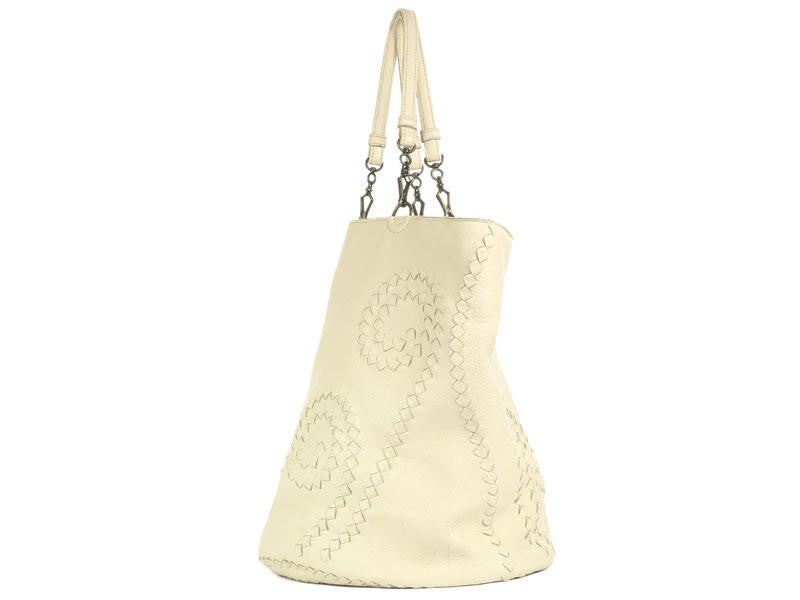 Bottega Veneta Cream Tote