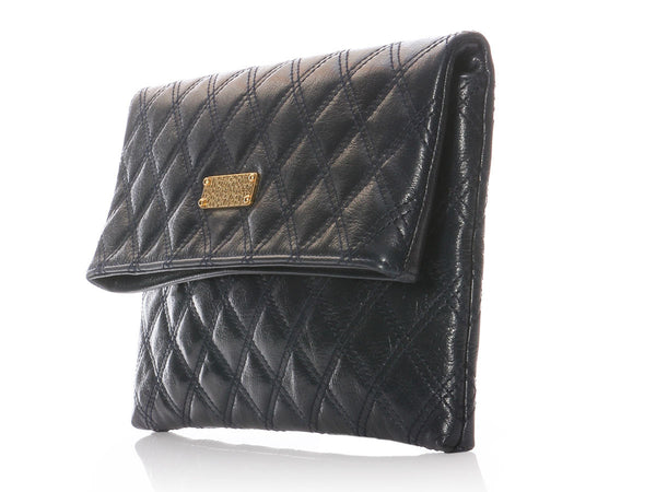 Marc Jacobs Navy Eugenie Clutch