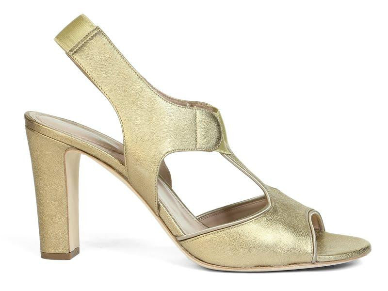 Chloé  Bronze Moon Sandals