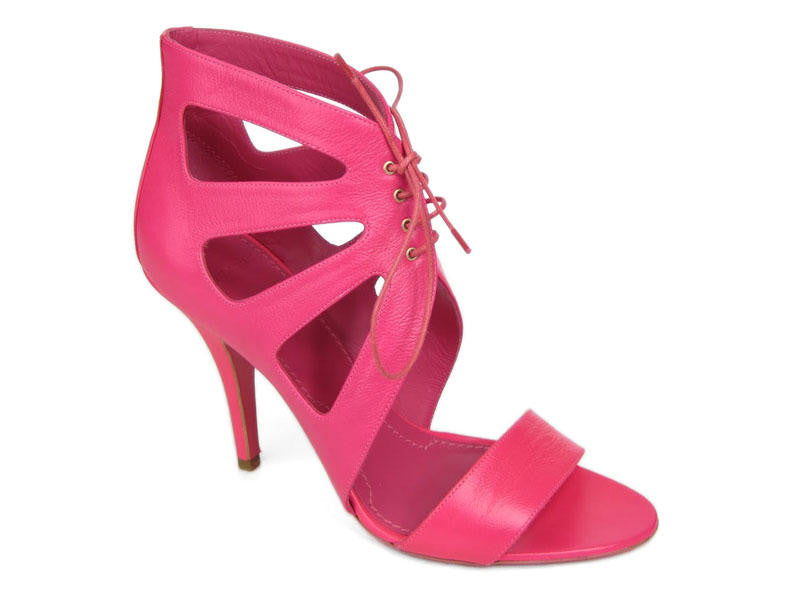 Givenchy Fuchsia Hightop Bootie Sandals