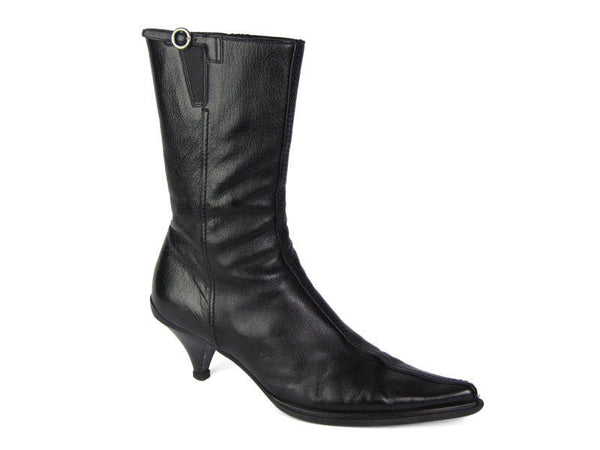 Miu Miu Short Black Boots