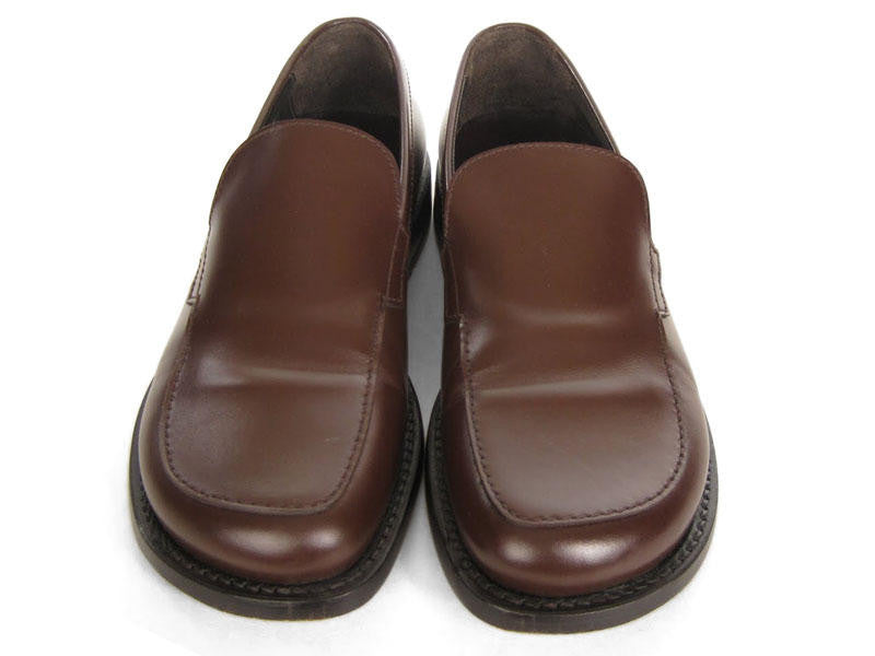 Prada Brown Loafers