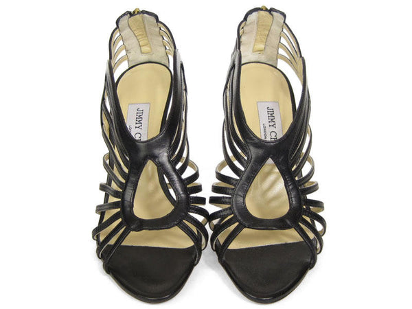 Jimmy Choo Black Samoa Sandals