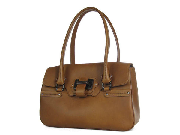 Ferragamo Brown Shoulder Bag