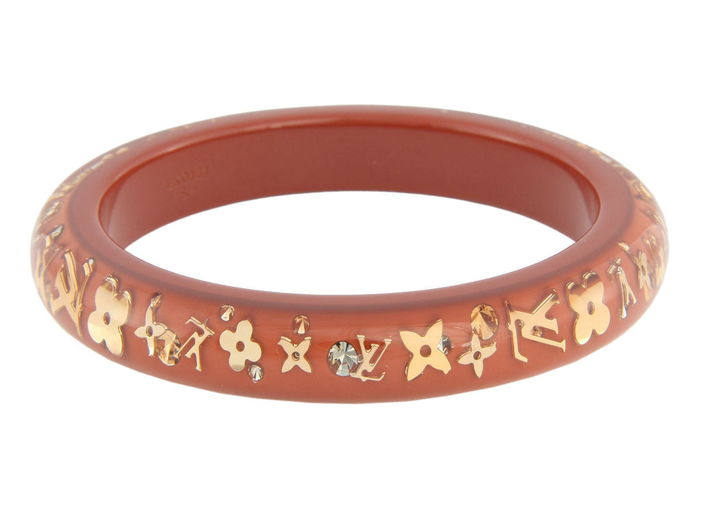 Louis Vuitton Caramel Inclusion Bracelet