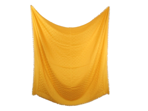 Louis Vuitton Yellow Monogram Shawl