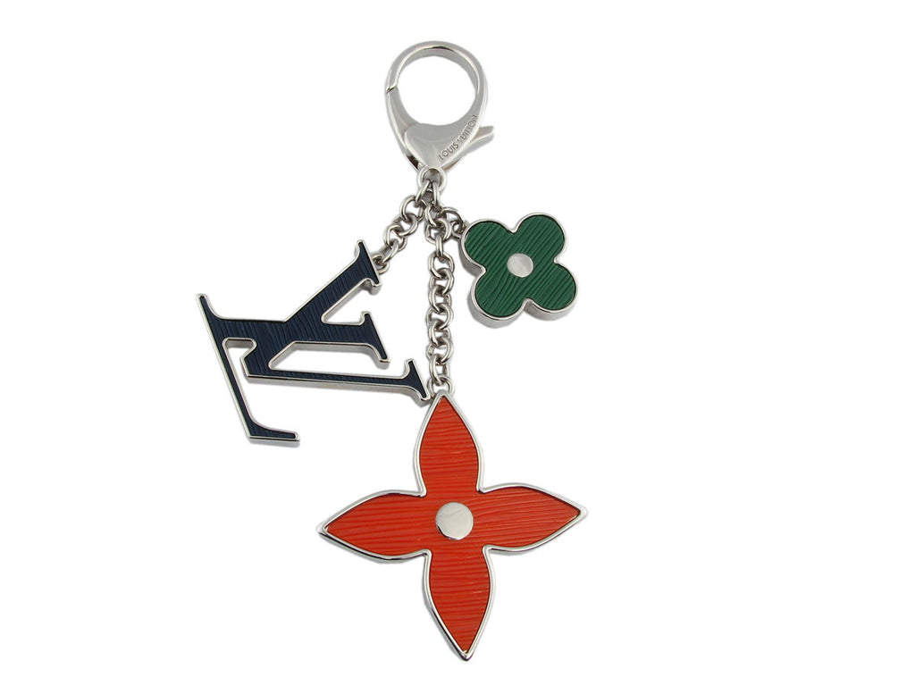 Louis Vuitton Tri-Color Fleur d'Epi Bag Charm