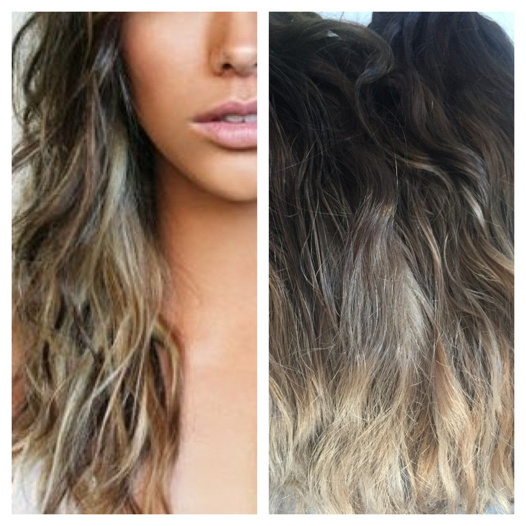 Balayage and Miss MyMy Virgin Hair