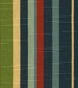 Richloom Illusions Burton Denim Stripe slub cotton printed upholstery and drapery fabric 54 inch wide $1 25 a yard.