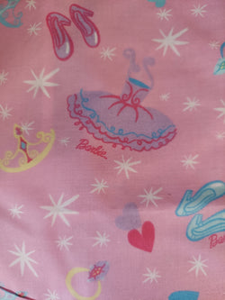 "Barbie Ballerina Springs Industries 45"" wide $11.99 a yard with free shipping"