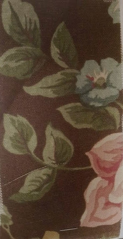 English Garden Drapery and Upholstery Fabric 91% Cotton 95 Linen, 54 inches wide $1.49  a yard.To view available inventory click on the drop-down box below
