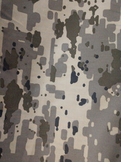 Israeli Defense Forces IDF Camouflage Nylon 50% Cotton 50% Sateen Twill Fabric 99 cents a yard
