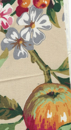 Fabricut Mansion Arbor Printed Drapery and Upholstery 100% Cotton Fabric 54 inch $1.25 a yard