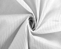 White Maxima Medical Barrier Fabric 62 inches wide 99% Polyester 1% Carbon Fiber $5 a yard